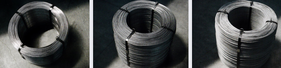 BRIGHT DRAWN WIRE / RIBBED / SMOOTH ROUND WIRE
